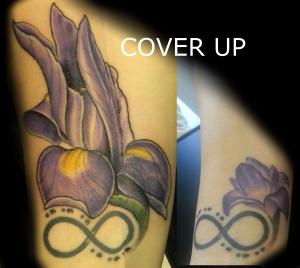 Iris cover up