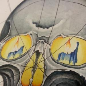 water color skull2