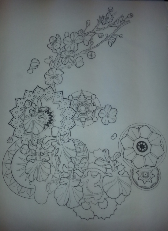 Upcoming side tattoo