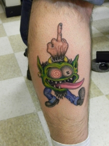 Rat Rod tattoo