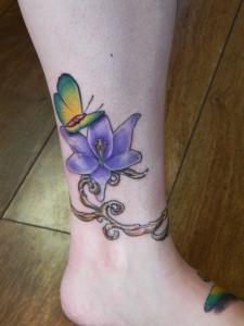 floral tattoo 4