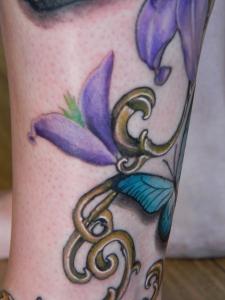 floral tattoo 6