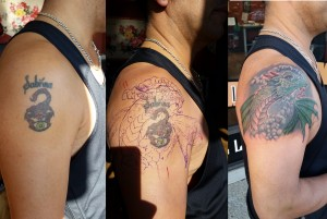 dragon cover up